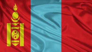 پرچم کشور مغولستان